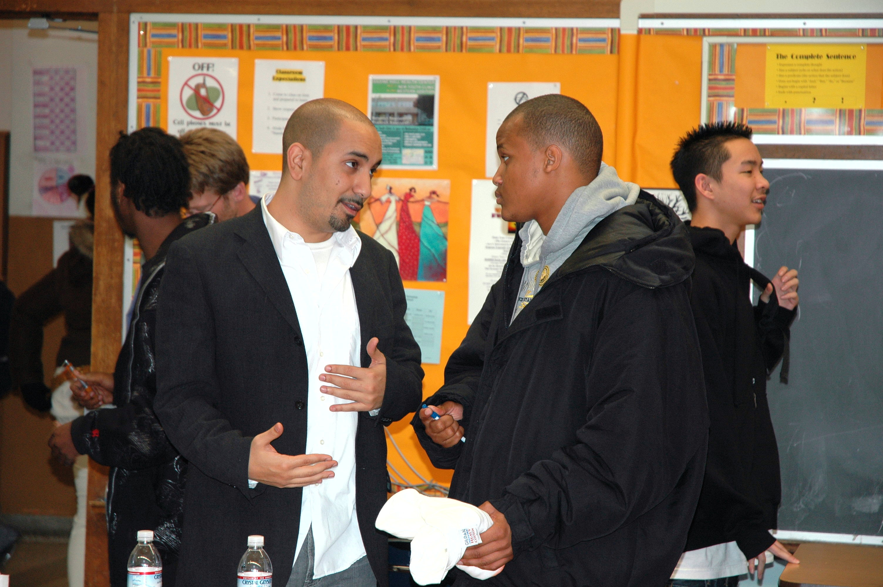Amro @ Ida B. Welles HS Career Fair